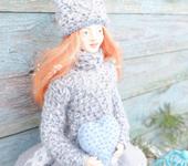 """Сказочные персонажи - Интерьерная, авторская кукла """"Герда"""" в единственном экземпляре"""