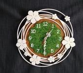 """Часы - Часы настенные """"Белый букет"""""""