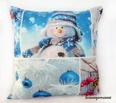 Подушки, одеяла, покрывала - Подушка Новогодняя