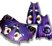 Одежда для девочек - Сарафан, имитирующий крылья бабочки Павлиний глаз