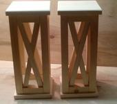 Свадебные аксессуары - Деревянные фонари