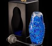 Декоративная посуда - Матрёшка-медовица из богемского стекла