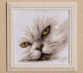 Вышитые картины - Персидский кот