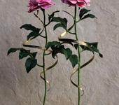 Оригинальные подарки - Кованый розовый пион