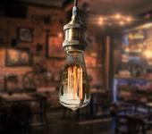 Светильники, люстры - Подвесной ретро светильник Loft Edison