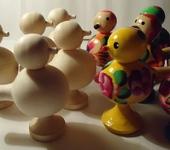 Народные куклы - птичка свисток