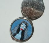 Зеркальца - Карманное зеркальце Эмили Труп невесты
