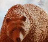 Статуэтки - Кедровый медведь Лохматый (Shaggy)