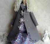 Куклы Тильды - Тильда Осенний Ангел в пальто