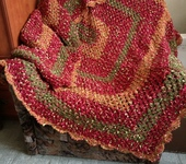 Подушки, одеяла, покрывала - Плед Осень