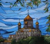 Витражи - Витражная роспись.