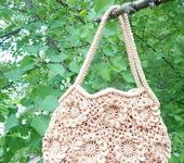 Шитье, вязание - Сумочка из цветов
