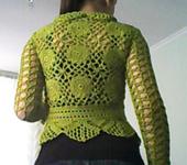 Пиджаки, жакеты - Зеленое болеро