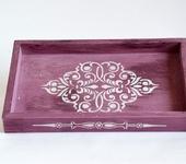 Декоративная посуда - Поднос сервировочный.