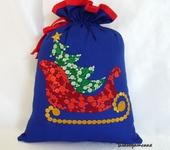Оригинальные подарки - Мешочек для подарка Новый год
