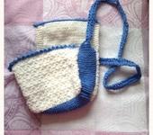 Сумки, рюкзаки - Вязаная сумочка