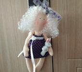 Куклы Тильды - Кукла Тильда подвеска