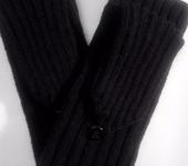 Варежки, митенки, перчатки - Варежки трансформеры мужские, черные