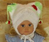Для новорожденных - шапочка на малыша