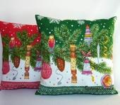 Подушки, одеяла, покрывала - Подушка Новый год