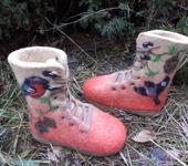 Обувь для детей - валенки -ботинки детские теплющие