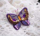 Броши - Бабочка Лидия