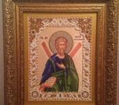 Вышитые картины - Икона святого Андрея