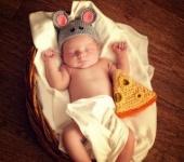 Для новорожденных - шапочки для новорожденных