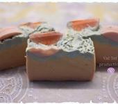 Мыло ручной работы - Мыло с нуля «Мандариновое»