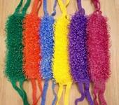 Шитье, вязание - Мочалка банная