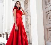 Платья - Алое платье