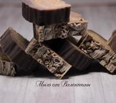 Мыло ручной работы - Шелковое мыло-шампунь «Курильский чай»