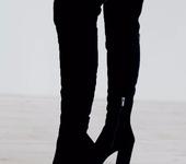 Обувь ручной работы - Ботфорты, Amedea