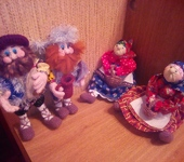 Оригинальные подарки - бабки-дедки