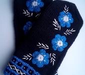 Варежки, митенки, перчатки - Варежки Сумерки