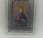 Вышитые картины - Икона св. Ангелина
