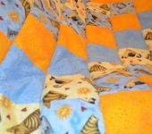 """Подушки, одеяла, покрывала - Детское лоскутное одеяло """"Солнечное небо"""""""