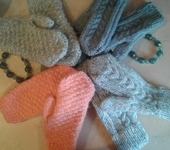 Варежки, митенки, перчатки - варежки