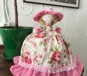 """Другие куклы - Кукла-грелка """"Баба на чайник"""""""