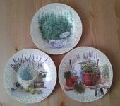 Оригинальные подарки - ПРОВАНС(набор декоративных тарелок)
