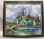 Вышитые картины - Картина вышитая крестиком