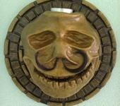 Интерьерные маски - Череп неустановленного лица...