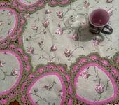 Скатерти, салфетки - Столовый набор Винтажные розы