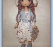 Другие куклы - Кукла Зимняя девочка