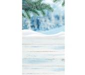 Фотография, шаржи, коллажи - Виниловый фотофон Ветка ели (пол/стена) 50х100 см