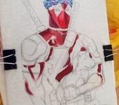 Футболки, майки - Ручная роспись рисунки на футболки куртки кеды свитшоты платья Дэдпул