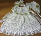 Одежда для девочек - Крестильный комплект