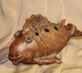 Оригинальные подарки - Рыба свистулька