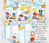 """Фотография, шаржи, коллажи - Портфолио для детского сада """"Маленький пират"""". Цифровой файл"""