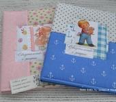 Обложки для документов, книг - Обложка для свидетельства о рождении.